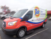 Charleston SC Vehicle Wrap Tide Cleaners