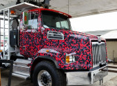 Transfer Truck Charleston SC Vehicle Wrap