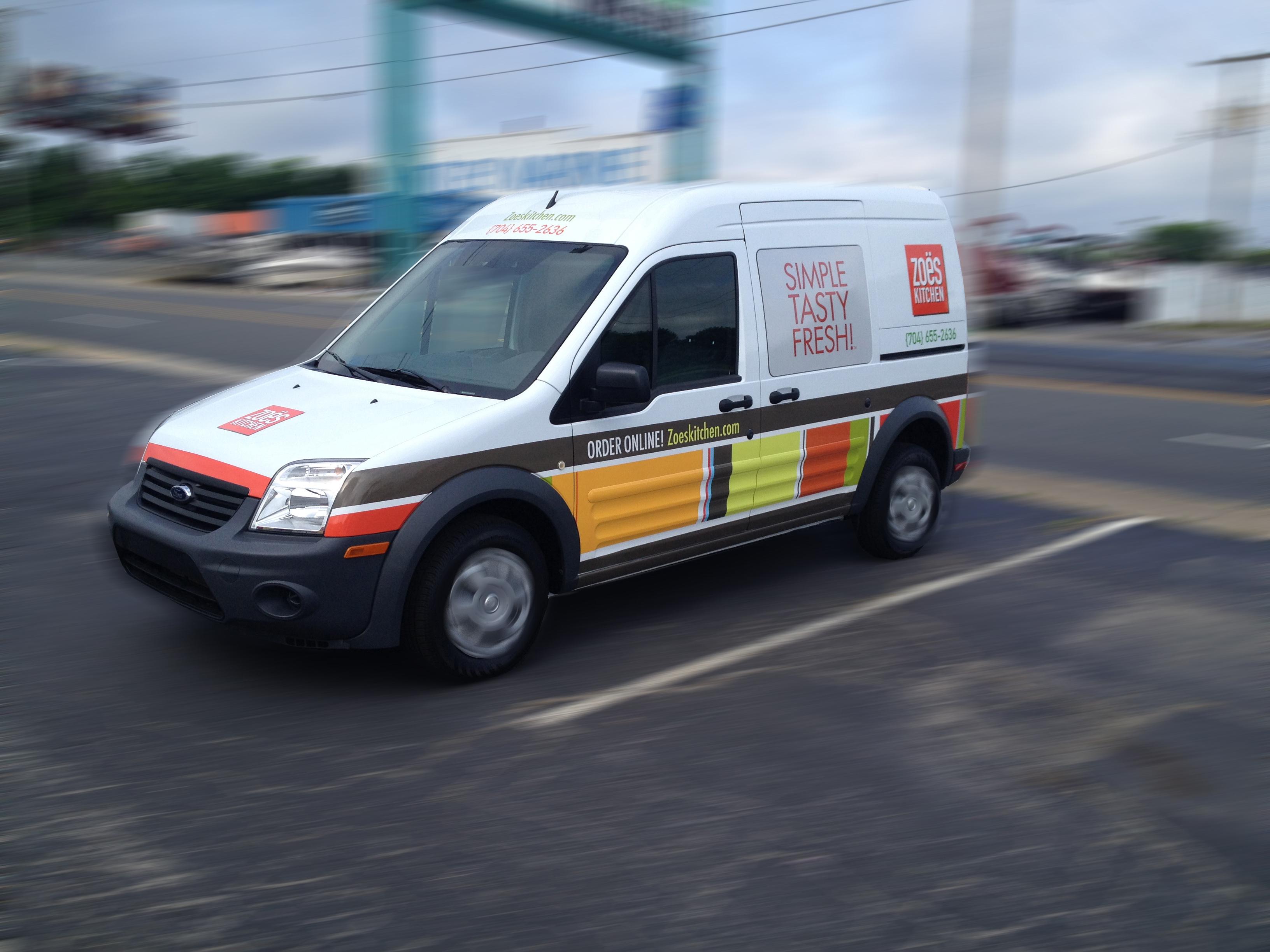 Zoeskitchen Kranken Signs Vehicle Wraps 843 608 3251